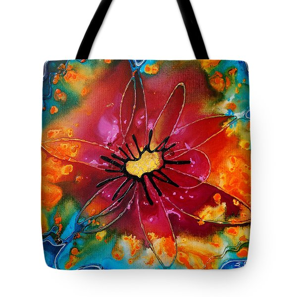 Summer Queen Tote Bag by Sharon Cummings