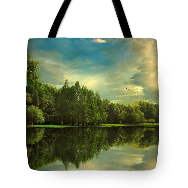 Summer Reflections Tote Bag by Jessica Jenney