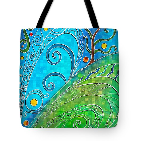 Summer Solstice Tote Bag by Shawna Rowe