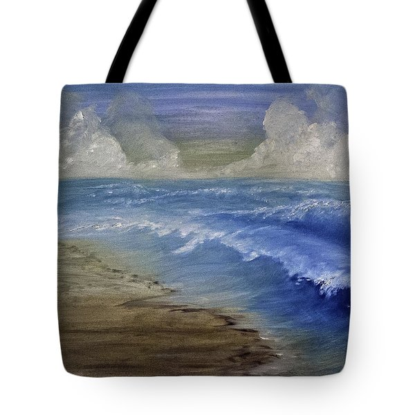 Summer Surf Tote Bag by Judy Hall-Folde