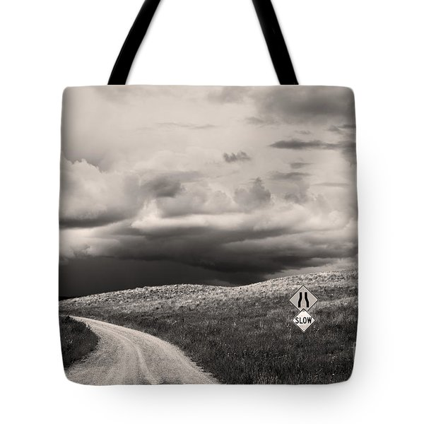 Summer Tempest Tote Bag by Sandi Mikuse