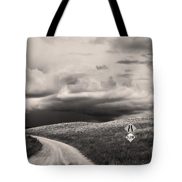 Summer Tempest Tote Bag by Sandi Mikuse