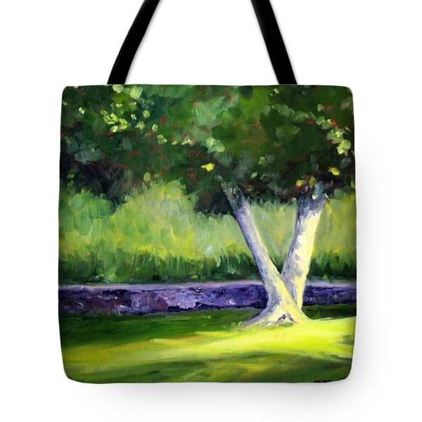 Summer Tree Tote Bag by Nancy Merkle