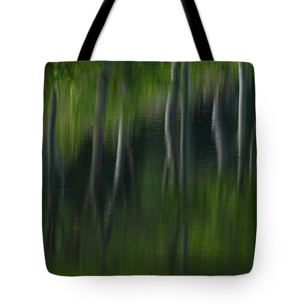 Summer Trees Tote Bag by Karol  Livote