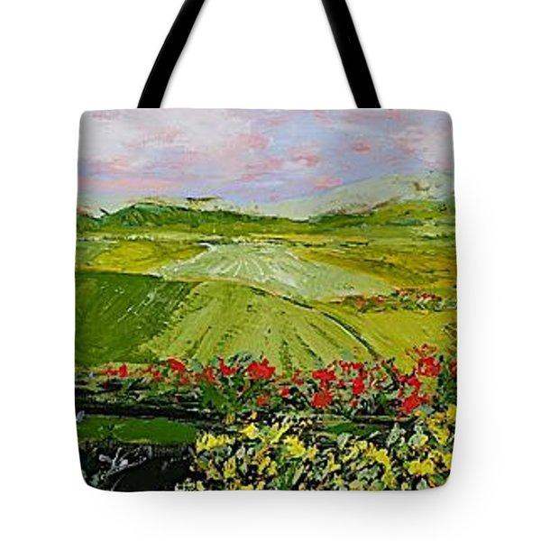 Summer Valley Tote Bag by Allan P Friedlander