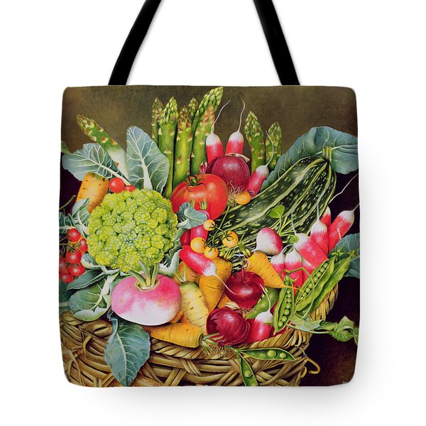 Summer Vegetables Tote Bag by EB Watts