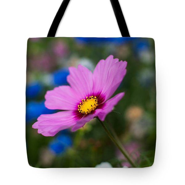 Summer Wild Blooms Tote Bag by Matt Malloy