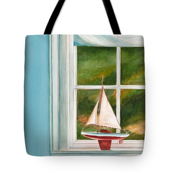 Summers At The Beach Tote Bag by Michelle Wiarda