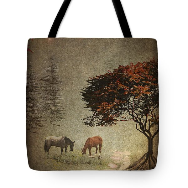 Summers End Tote Bag by Terry Fleckney