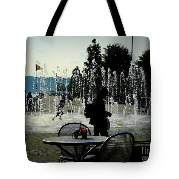 Summertime Fun Tote Bag by Avis  Noelle