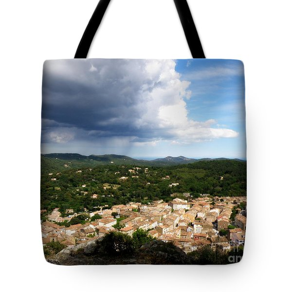 Sun and Rain Tote Bag by Lainie Wrightson