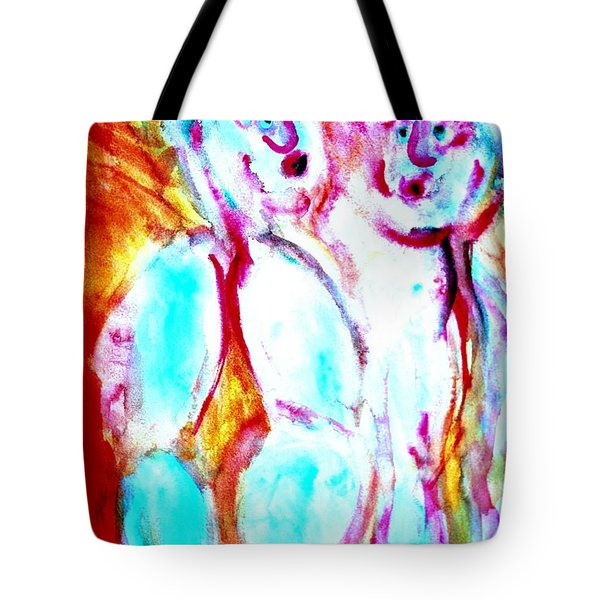 sun burning   Tote Bag by Hilde Widerberg