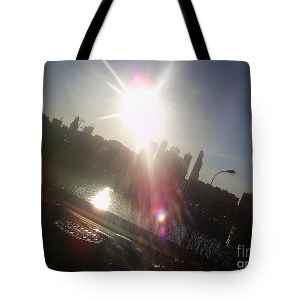 Sun Passion Tote Bag by Anna Yurasovsky