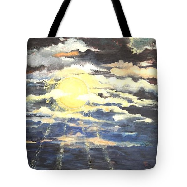 Rays Of Light Tote Bag by Caroline Street