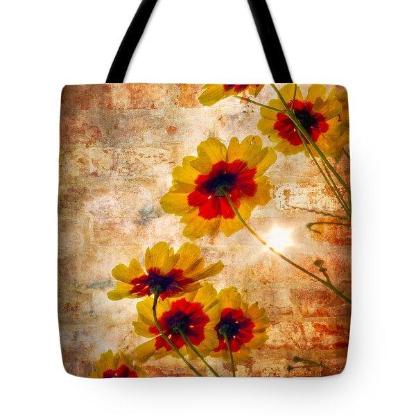 Sun Seekers Tote Bag by Debra and Dave Vanderlaan