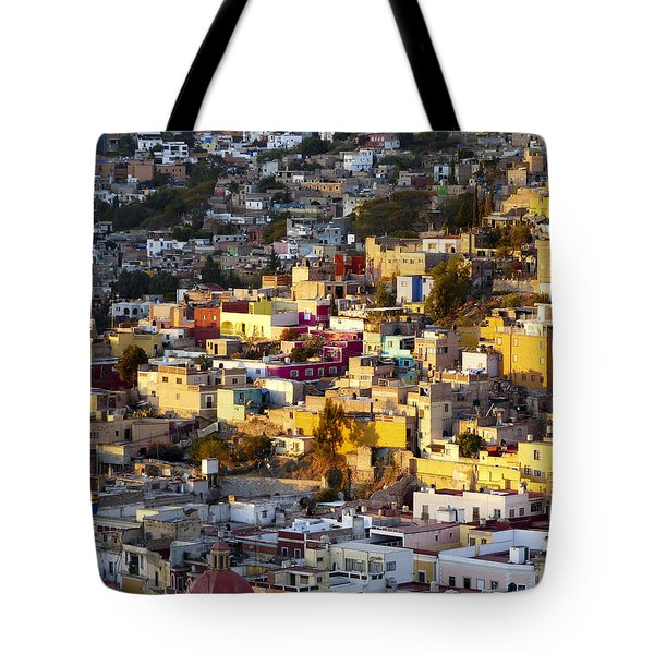 Sun Triangle Tote Bag by Douglas J Fisher