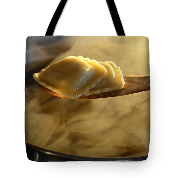 Sunday Dinner Tote Bag by Laura Fasulo