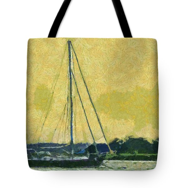 Sundown Impressions Tote Bag by Barry Jones