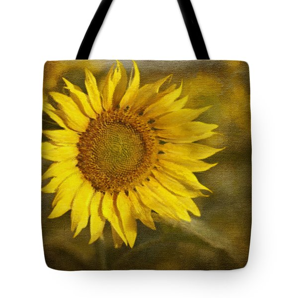 Sunflower And Sunshine  Tote Bag by Ivelina G