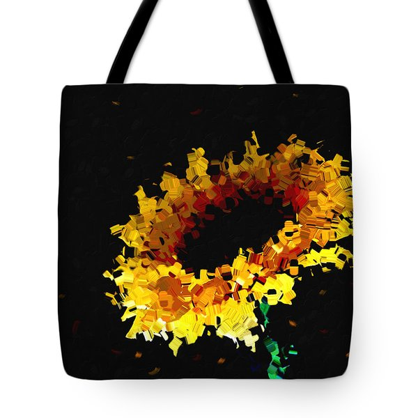 Sunflower Tote Bag by Ann Powell