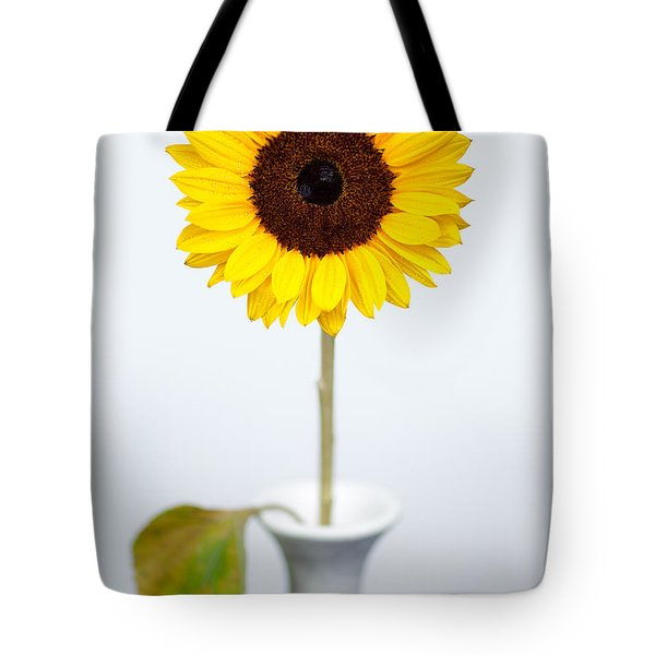 Sunflower Tote Bag by Dave Bowman