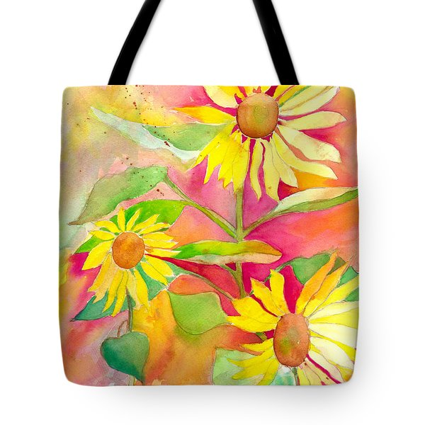 Sunflower Tote Bag by Kelly Perez