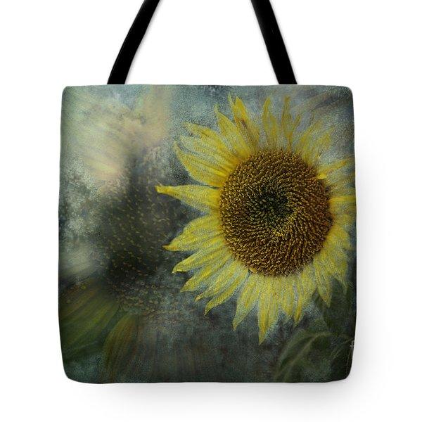 Sunflower Sea Tote Bag by Belinda Greb