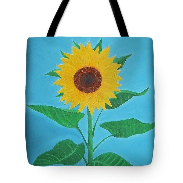 Sunflower Tote Bag by Sven Fischer