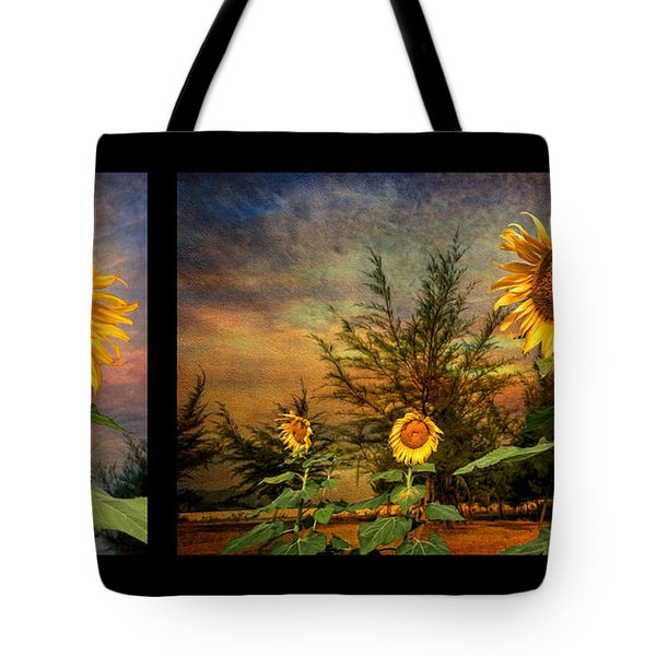 Sunflowers Tote Bag by Adrian Evans