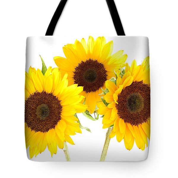 Sunflowers Tote Bag by Claudio Bacinello