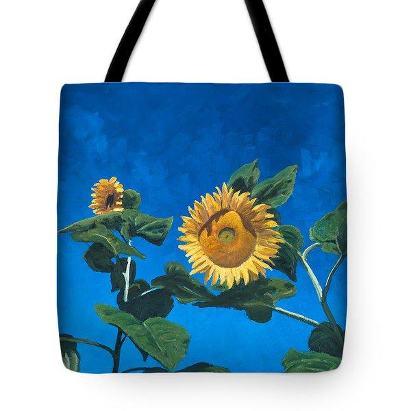 Sunflowers Tote Bag by Marco Busoni