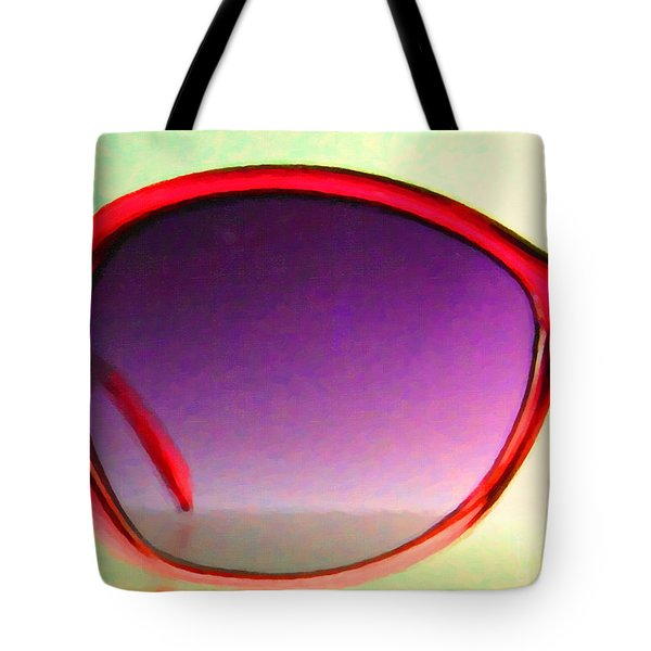 Sunglass - 5D20678 - v1 Tote Bag by Wingsdomain Art and Photography