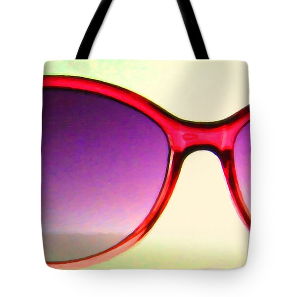 Sunglass - 5D20678 - v2 Tote Bag by Wingsdomain Art and Photography