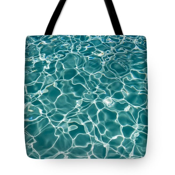 Sunlight Cool Abstract  Tote Bag by Heidi Smith