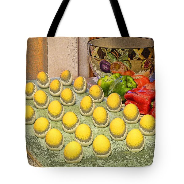 Sunny Side Up Tote Bag by Chuck Staley