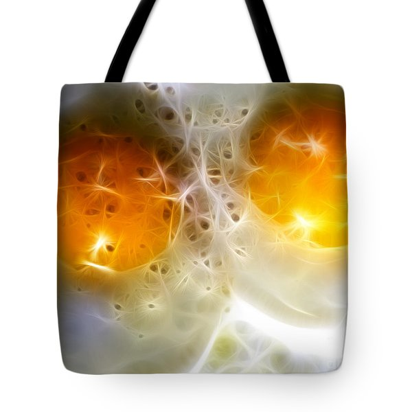Sunny Side Up Tote Bag by Wingsdomain Art and Photography