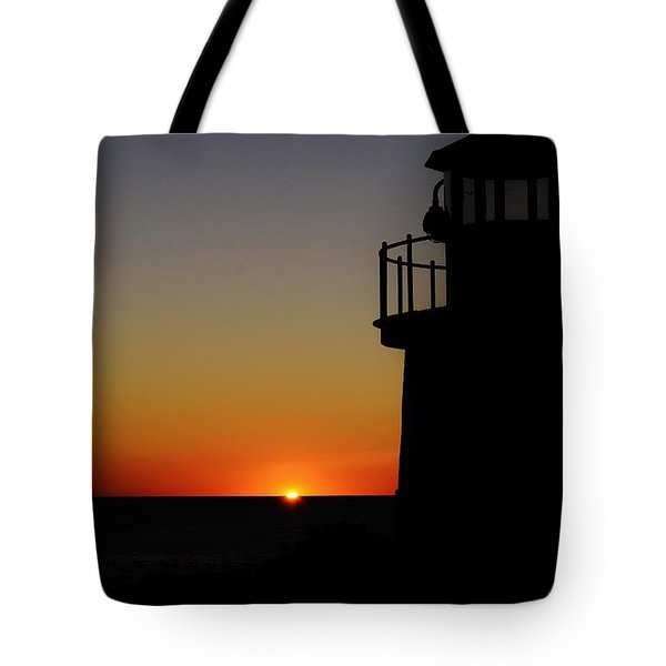 Sunrise Abstract Tote Bag by Joy Bradley