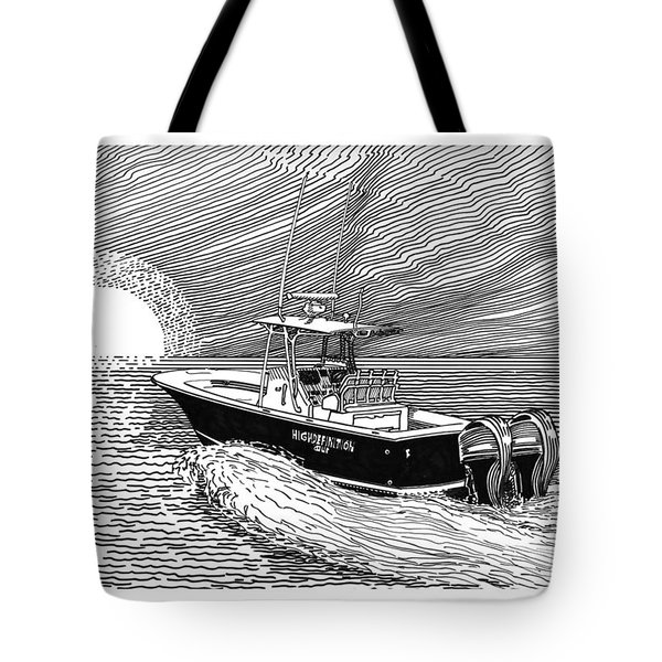 Sunrise Fishing Tote Bag by Jack Pumphrey
