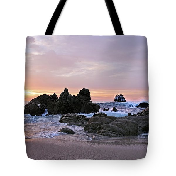 Sunrise In Cabo San Lucas Tote Bag by Marcia Colelli