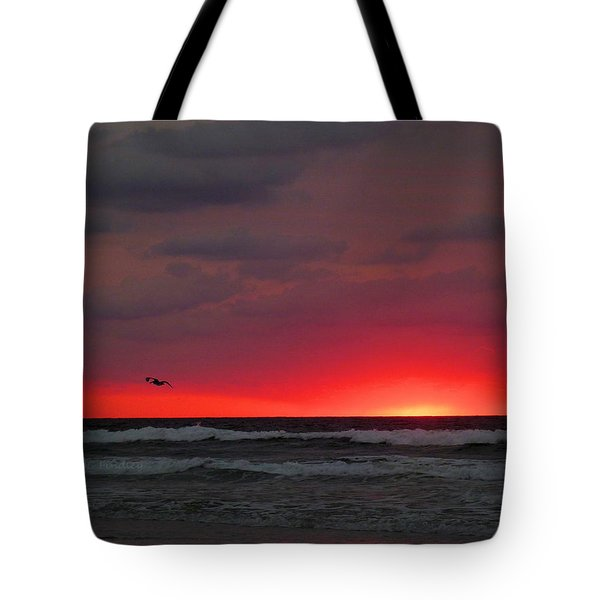 Sunrise Pink Tote Bag by JC Findley