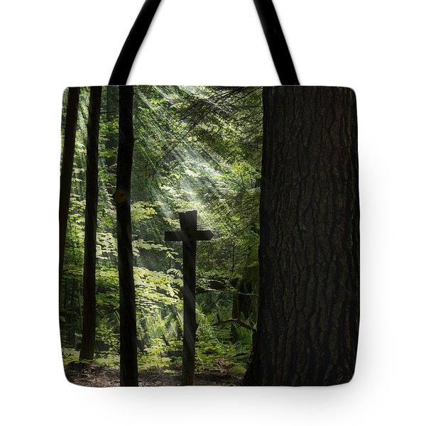 Sunrise Prayer Tote Bag by Christina Rollo