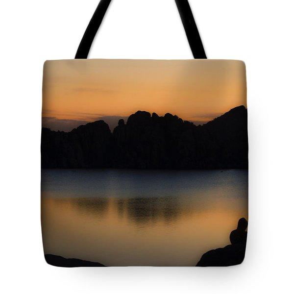 Sunrise Solitude Tote Bag by Dave Dilli