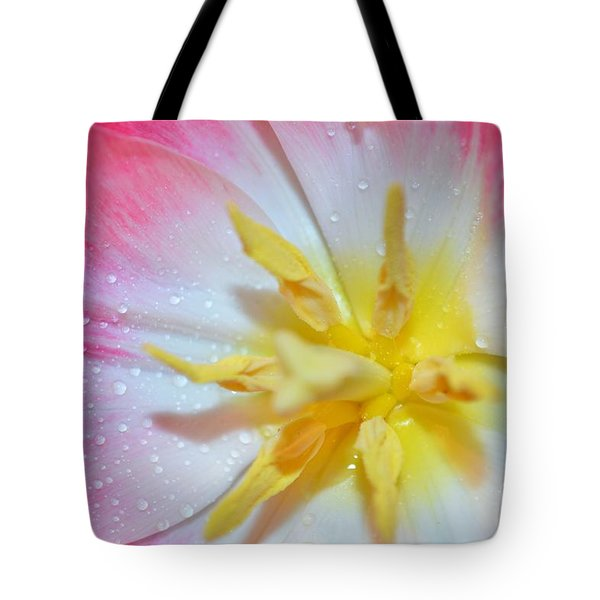 Sunrise Tulip Tote Bag by Felicia Tica