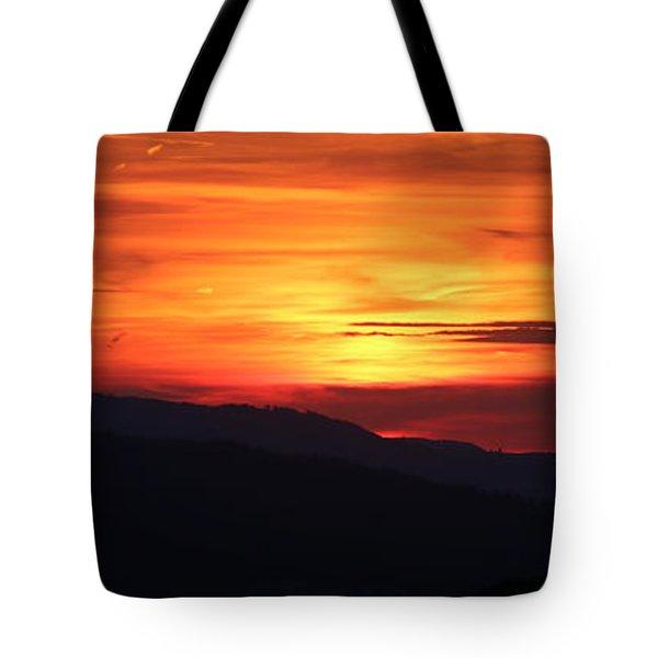 Sunset Tote Bag by Amanda Mohler
