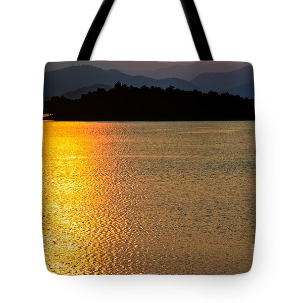 Sunset Asia  Tote Bag by Adrian Evans