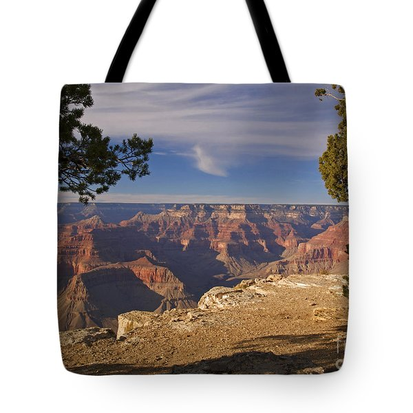Sunset at the Grand Canyon's Hopi Point Tote Bag by Alex Cassels