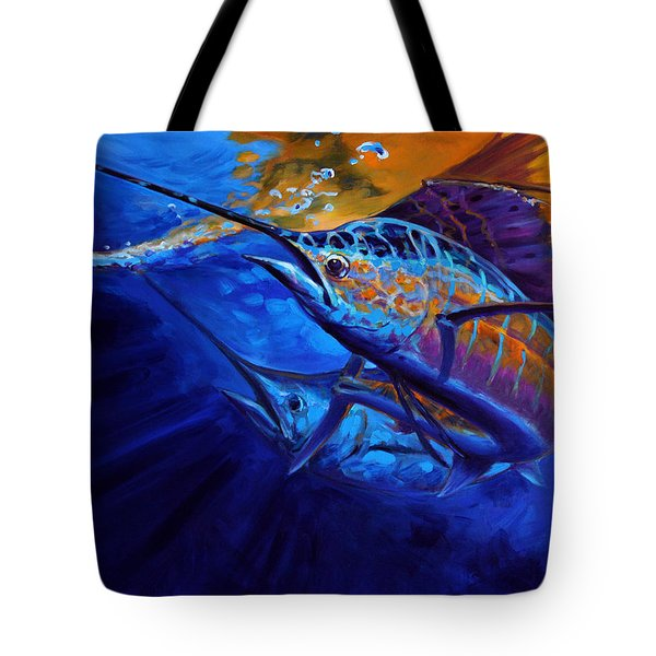 Sunset Bite Tote Bag by Mike Savlen