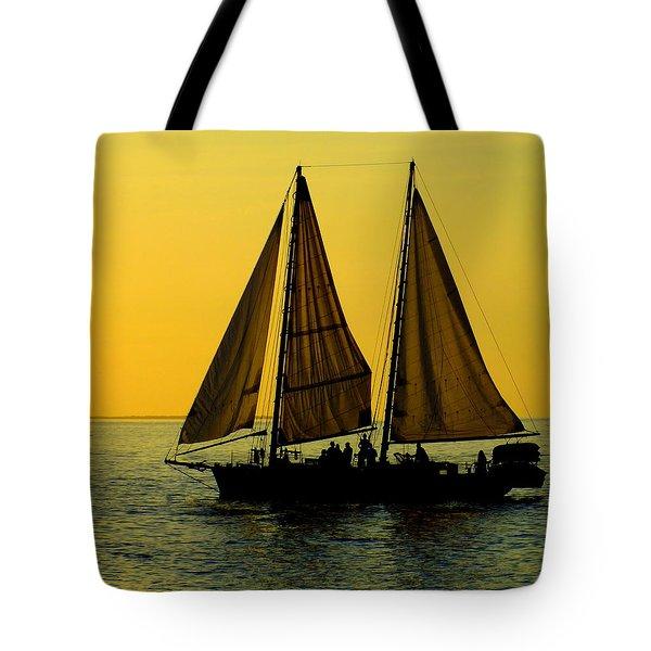 SUNSET CELEBRATION Tote Bag by KAREN WILES