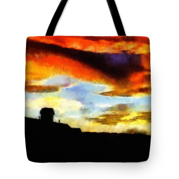 Sunset Colours Tote Bag by Ayse Deniz
