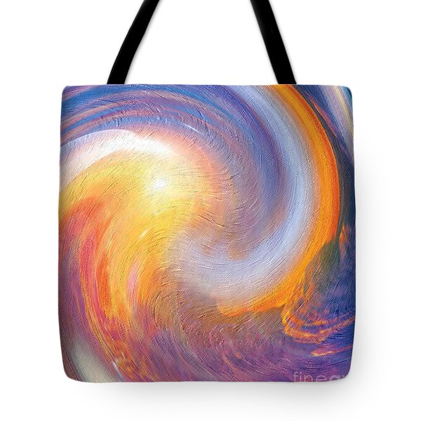 Sunset Illusions Tote Bag by Sara  Raber